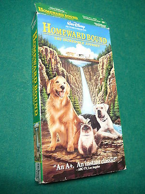 Homeward Bound: The Incredible Journey VHS