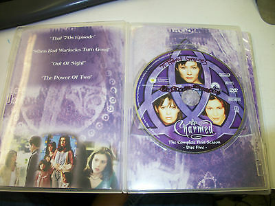 CHARMED THE COMPLETE FIRST SEASON REPLACEMENT DISC FIVE FREE SHIPPING