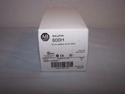 Allen Bradley 800H-Hr5Ap Selector Switch 30.5Mm 2 Pos New In Box