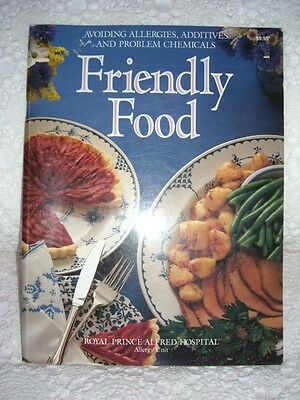 Friendly Food - RPA Allergy Unit - Allergies chemicals Cookbook Recipes