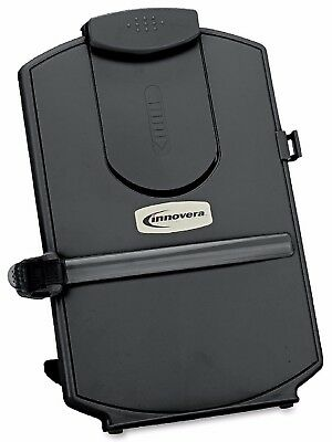 Innovera Desktop Copy Holder Black Free Standing Holds Both A4 and Letter Size