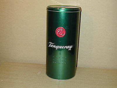 Tanqueray 1.75l Tin Bottle Holder Good Shape w/protective sleeve