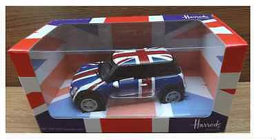 Corgi Harrods Union Jack New Mini - NEW – SEALED