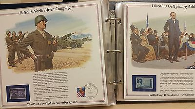 the History of America in Stamps album by Postal Commemorative Society