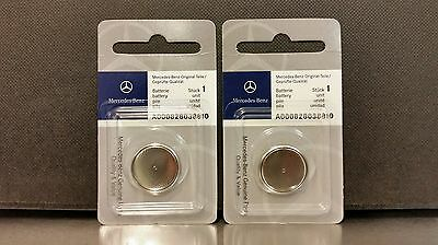 Mercedes Benz Remote Key Batteries 2-Pack OEM