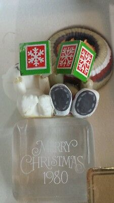 Hallmark Ornament 1980 FROSTY FRIENDS COOL YULE 1st in Series in BOX with TAG