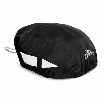 Crane High Visibility Waterproof Bike Bicycle Cycle Helmet Rain Cover BLACK 717