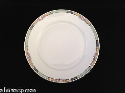 "Gimbel Brothers KPM Bavaria Germany China 27044-4576 Roses 8-1/4"" LUNCHEON PLATE"