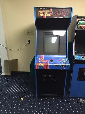 Ms Pac Man & Galaga Combo Plus More Style Cabinets And Games!!! L@@K!!!