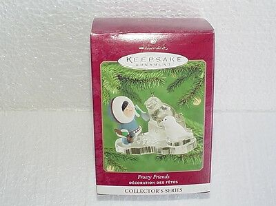 2000 Frosty Friends #21 in the Series Hallmark Ornament - Nice!!