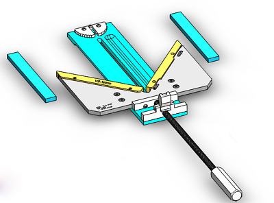 """MasterClamp wide Picture Frame Clamp 6.5"""" V8-QRA"""
