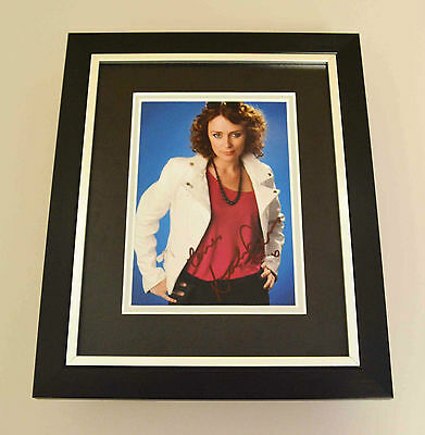 Keeley Hawes Signed 10x8 Photo Framed Display Ashes to Ashes Autograph + COA