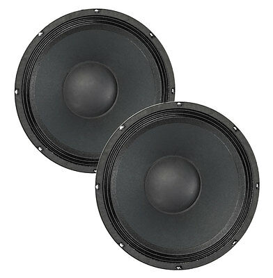 """Pair Eminence Beta-12A-2 12"""" Driver 8ohm 500W 98dB 2"""" Coil Replacement Speaker"""