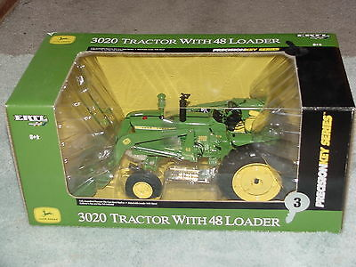 Ertl 1/16 John Deere 3020 Precision Key Series #3 Tractor With 48 Loader