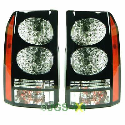 Land Rover Discovery 3 & 4 Rear BLACK Led Tail Lights Pair - OEM