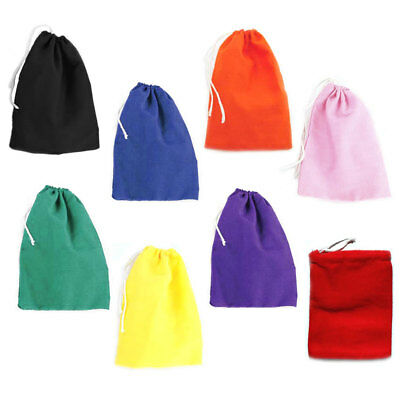"Cotton Mojo Bag 3"" x 4"" - Choose from Eight Colors! - Drawstring Pouch Hoodoo"
