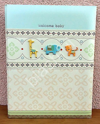 Carters WONDER Giraffe Tiger Baby Boy Girl Memory Keepsake Book 1st 5 Yrs