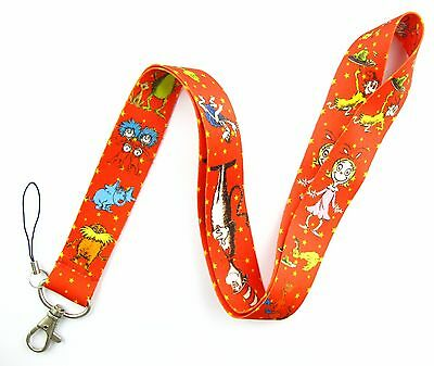 10Pcs Red Popular Cartoon Mobile Cell Phone Lanyard Neck Straps Party Gifts Q27