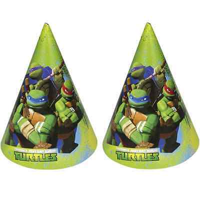 Teenage Mutant Ninja Turtles | TMNT Party Hats | Favours 1-48pk