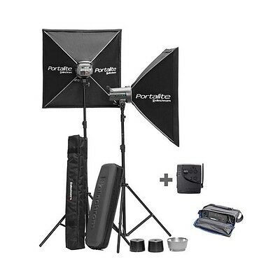 Kit 2 Flash Dlite RX-4 To Go+Batería Inovatronix Elinchrom