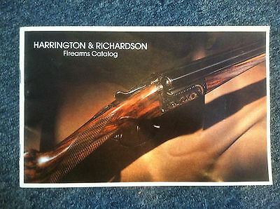 1972 H&R HARRINGTON RICHARDSON FIREARMS CATALOG  43 PAGES FREE SHIPPING
