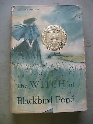 Vtg 1958 THE WITCH OF BLACKBIRD POND by ELIZABETH GEORGE SPEARS 13th printing