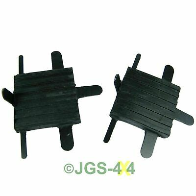 Land Rover Series 2A, 3 & Defender Brake & Clutch Pedal Rubbers - 278166