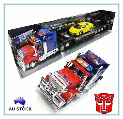 TRANSFORMERS OPTIMUS PRIME Large 62cm RC Radio Remote Control Car Truck Kids Toy