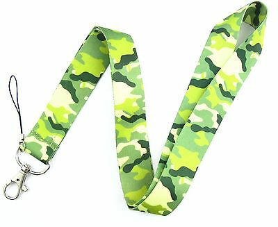 Lot 10Pcs Camouflage Mobile Cell Phone Lanyard Neck Straps Party Gifts W02