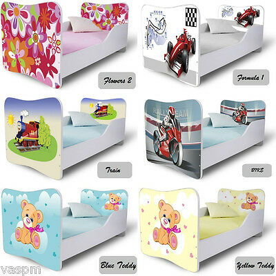 **Amazing Toddler children kids beds with free mattress Lowest price on eBay ***