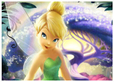 Tinkerbell- Cake Topper Edible Image Icing Sheets