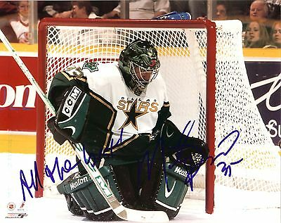 Marty Turco autographed 8x10 Dallas Stars #1 Free Shipping