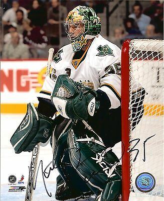 Marty Turco autographed 8x10 Dallas Stars #2 Free Shipping