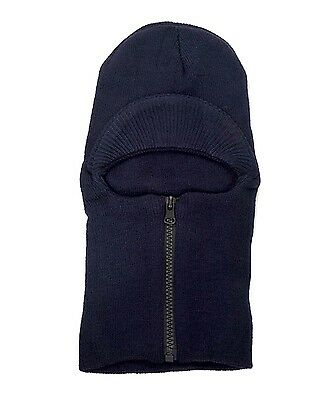 Unisex Knit Ski Mask with Visor and Zip-Up Face-Mask Pack of 5