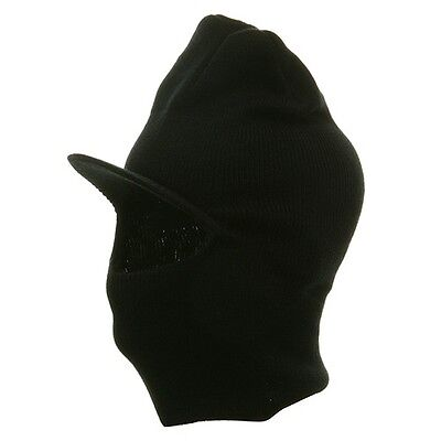 Ski/Snowboard Face Mask with Visor Wind and Cold Protection for Winter Outdoors
