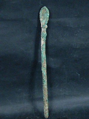 Ancient Bactrian Bronze spoon C.300 BC