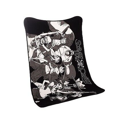 1pc 39 X 55inch Anime One Piece Blanket The Straw Hat Pirates Luffy Member Soft