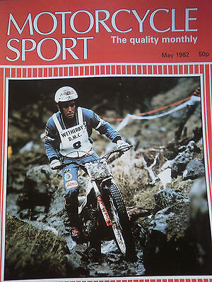 Motorcycle Sport Magazine 05/82 350 Montessa At Raydale North Yorkshire Cover