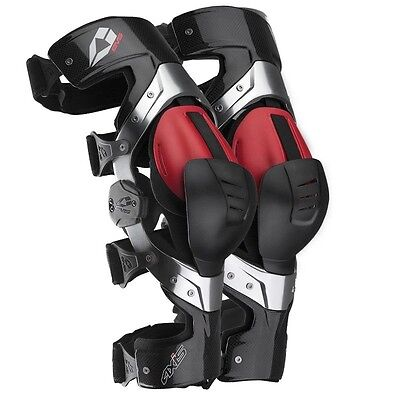 EVS Motocross Dirt Bike Off Road Protection Pair Axis Pro Knee Brace