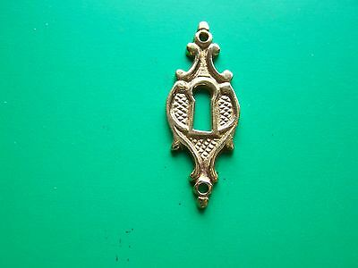 Keyhole Cover Plates Escutcheons For Antique Victorian Furniture
