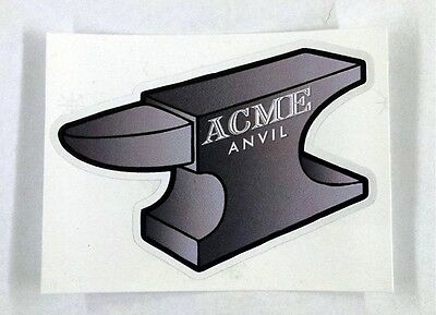 "Acme Anvil looney tunes Wile E coyote sticker decal 4""x3"""
