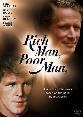 NEW Rich Man, Poor Man: The Complete Collection (DVD, 2010, 9-Disc Set)