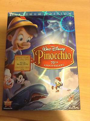 Walt Disney Pinocchio 2-Disc Platinum Edition New DVD