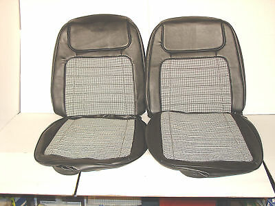 1968 Camaro Houndstooth Front. Bucket Seat Covers Old Stock