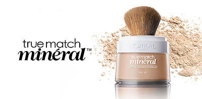 (1) L'oreal True Match Mineral Gentle Mineral Makeup, You Choose!