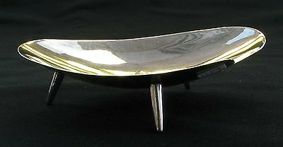 Juventino Lopez Reyes JLR Mexico Mexican Modernist Sterling Silver Bowl 1950-70