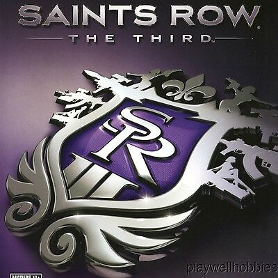 SAINTS ROW THE THIRD Sony Playstation 3 PS3 Game - Complete!