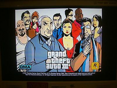 GRAND THEFT AUTO III   PLAY STATION 2, PS2 TESTED WORKS GREAT