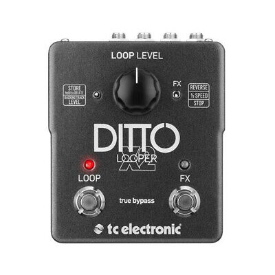 TC Electronic Ditto X2 Stereo Looper Pedal