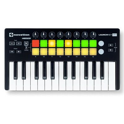 Novation Launchkey Mini Mk2 USB/MIDI keyboard + Ableton Live